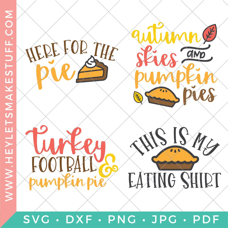 pumpkin pie SVG bundle