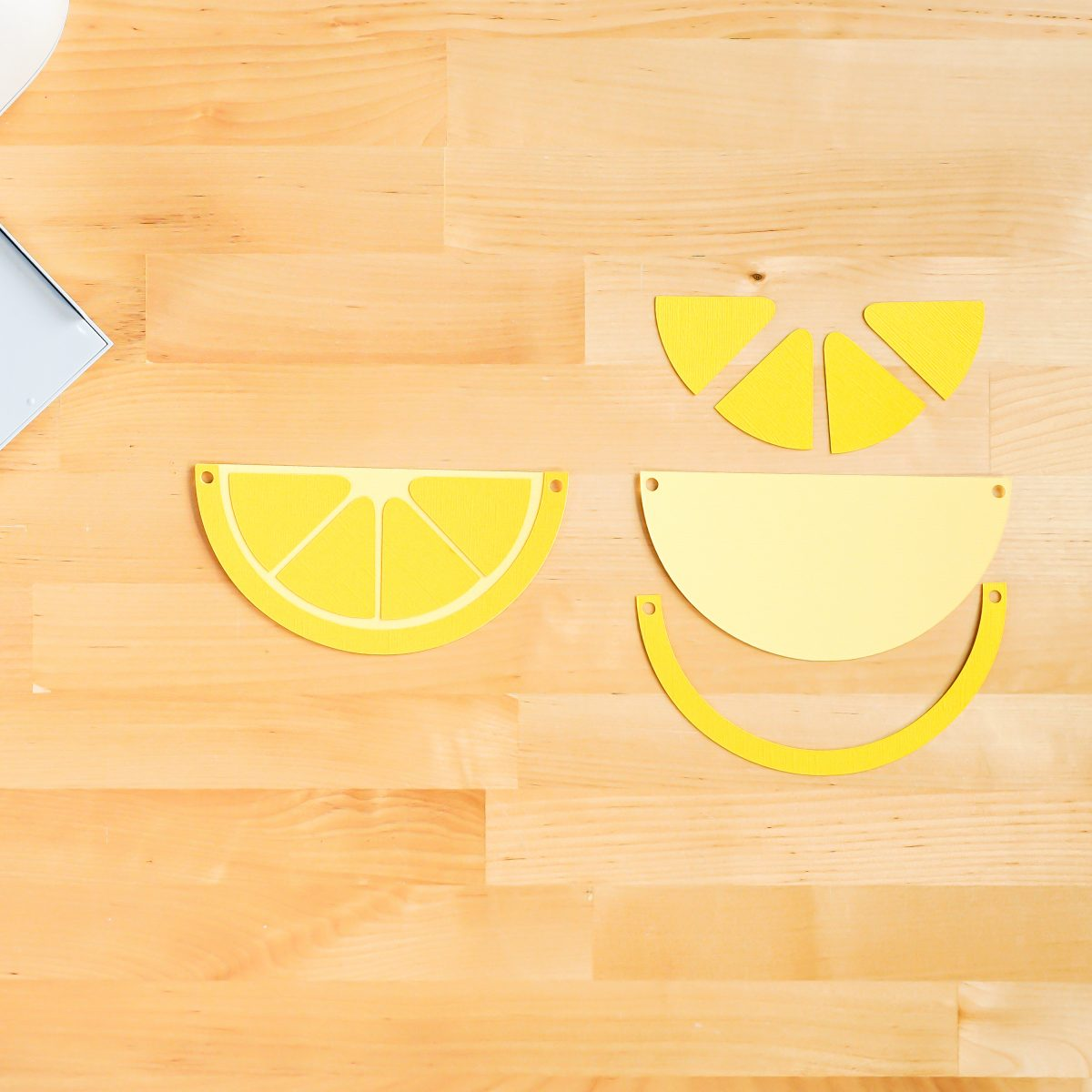 How to assemble the lemon