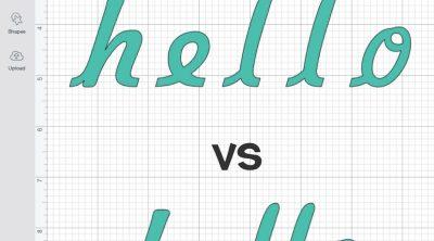 Hello (unkerned) vs. Hello (kerned)