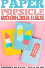Popsicle Bookmarks Pin