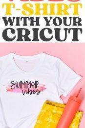 Cricut summer shirt pin image