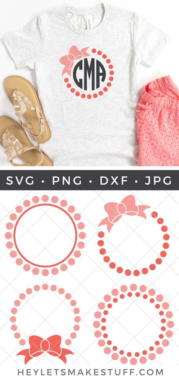 Pearl Monogram SVG Bundle pin image