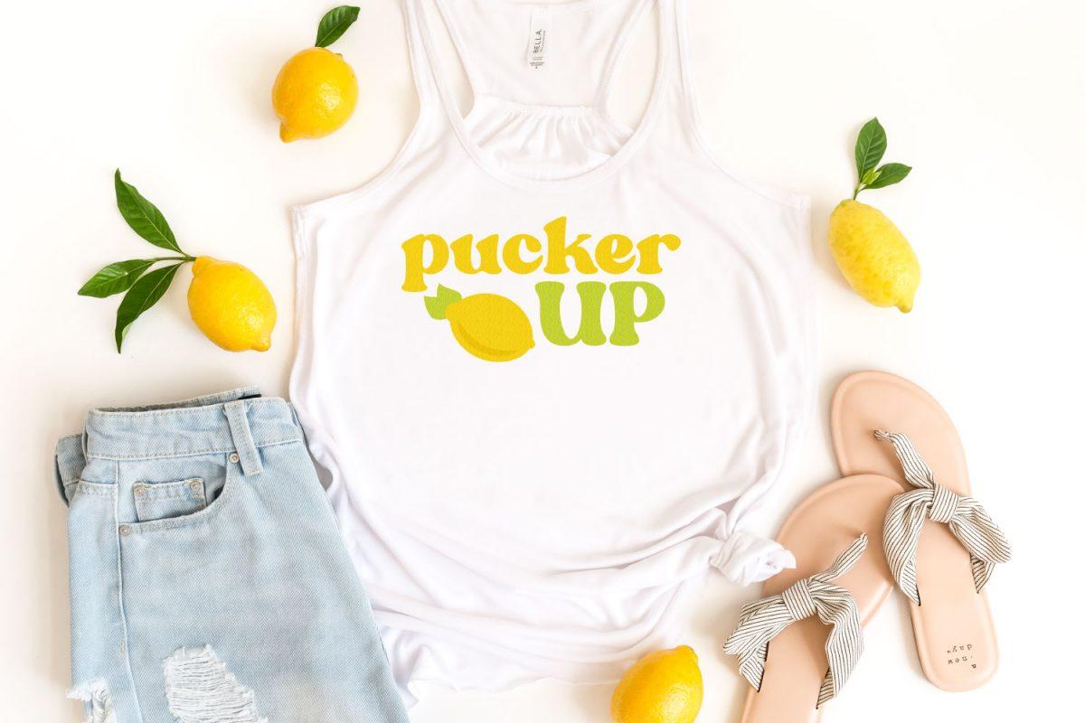 Pucker Up SVG image