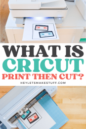 Cricut Print then Cut Pin #1