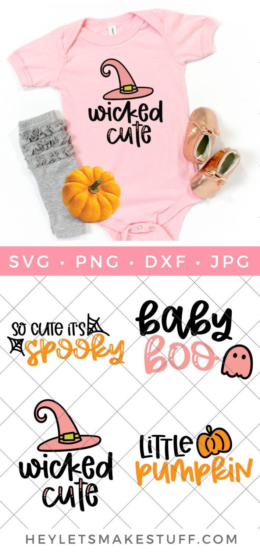 Halloween Baby SVG Bundle pin image