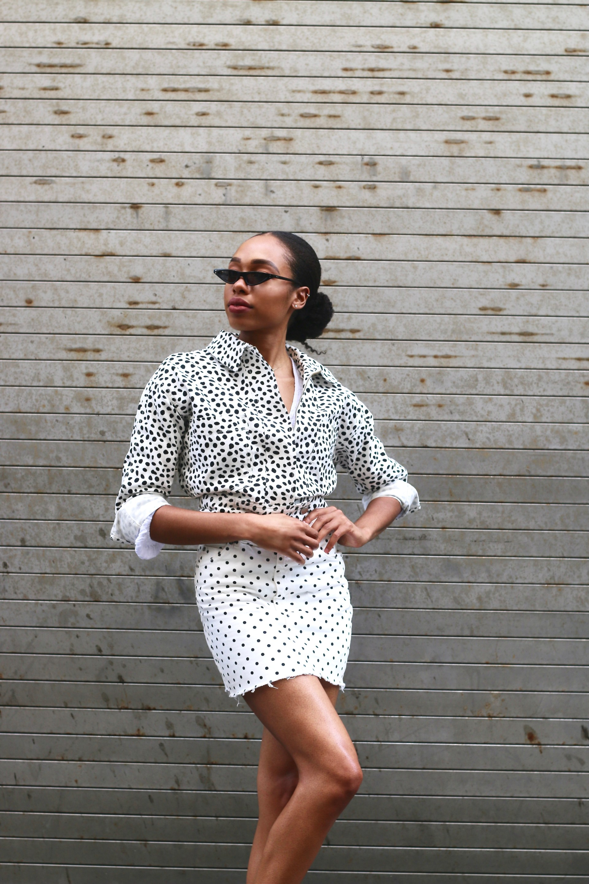how to style polka dots4