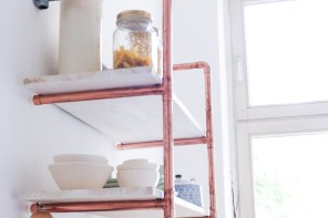 diy copper shelf (3 of 3)
