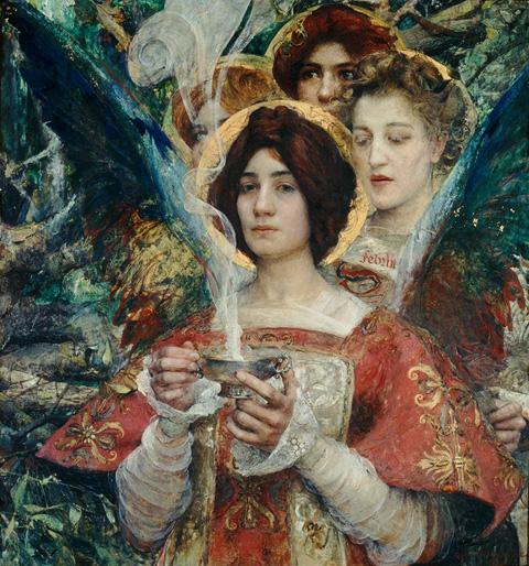 Edgard Maxence, L'Ame de la Forêt, 1898