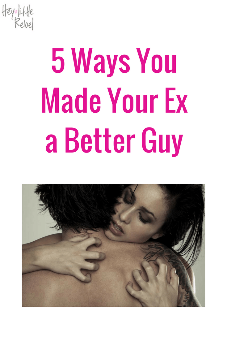Ever wonder how your ex, the worst ex in all of history, became Prince Charming for his next girl? It might be more your doing than you realize.