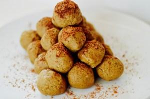 matcha 3 ways, matcha, recipes, hey little rebel, heylittlerebel.com, protein balls