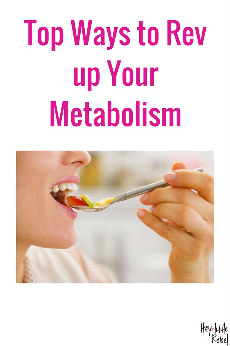 Is your metabolism holding you back? Megan Kober, a registered dietician, tells Hey Little Rebel her top ways to rev up your metabolism.