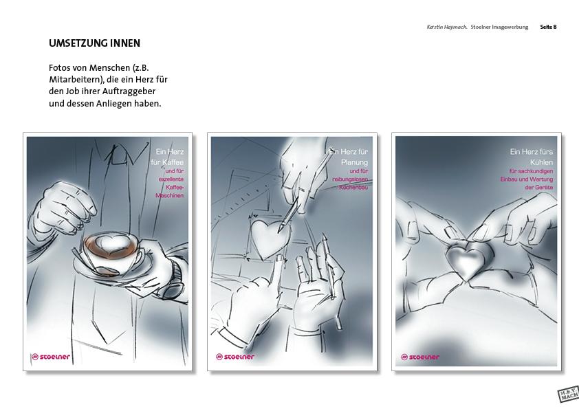 Präsentation Stölner-Image-Werbung, Innenseiten