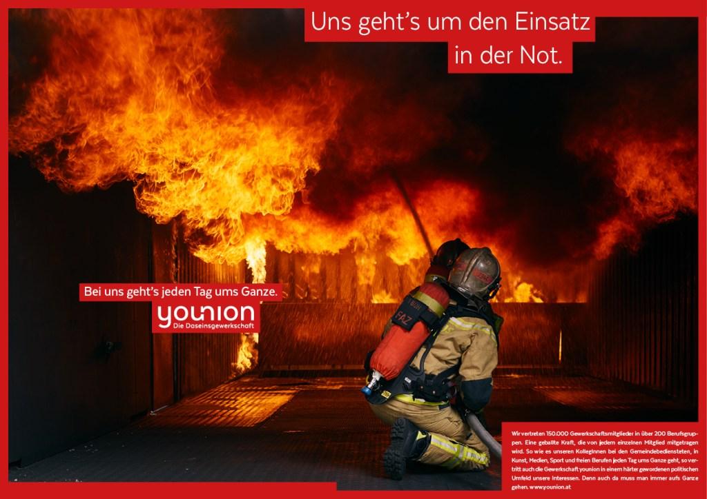 """younion Anzeigen quer """"Ums Ganze""""_Feuerwehr"""