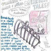 Toast racks, muesli with orange juice and other breakfast tales!