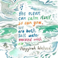 Illustrated poem -- Nayyirah Waheed