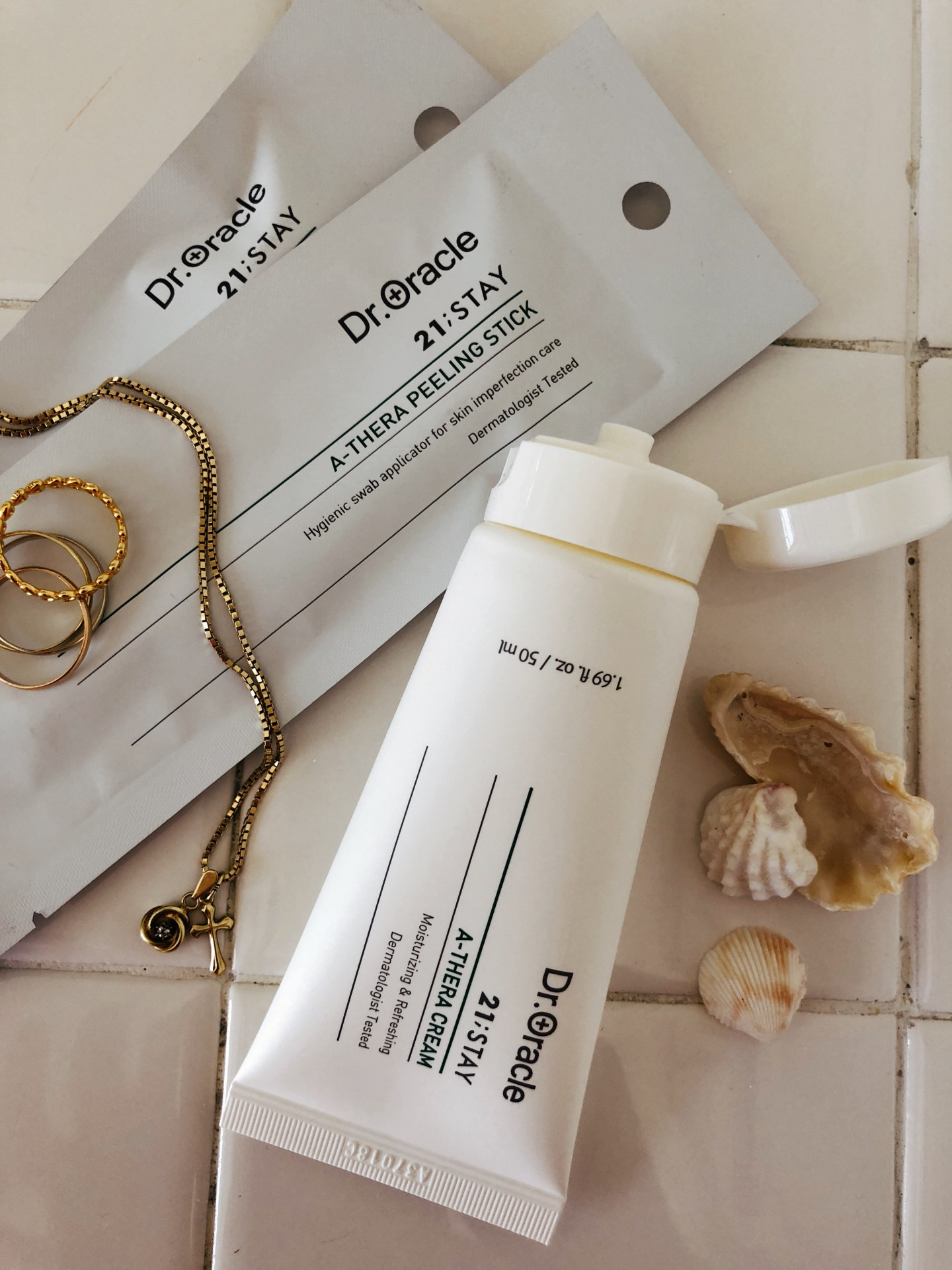 TESTED: Dr. Oracle A-Thera Cream and A-Thera Peeling Sticks