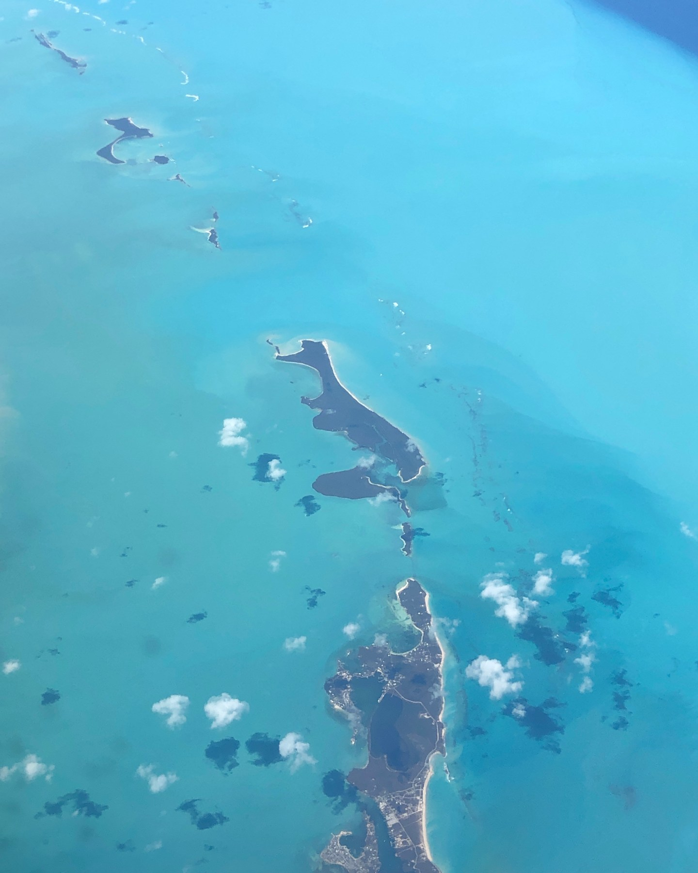 The Bahamas from above
