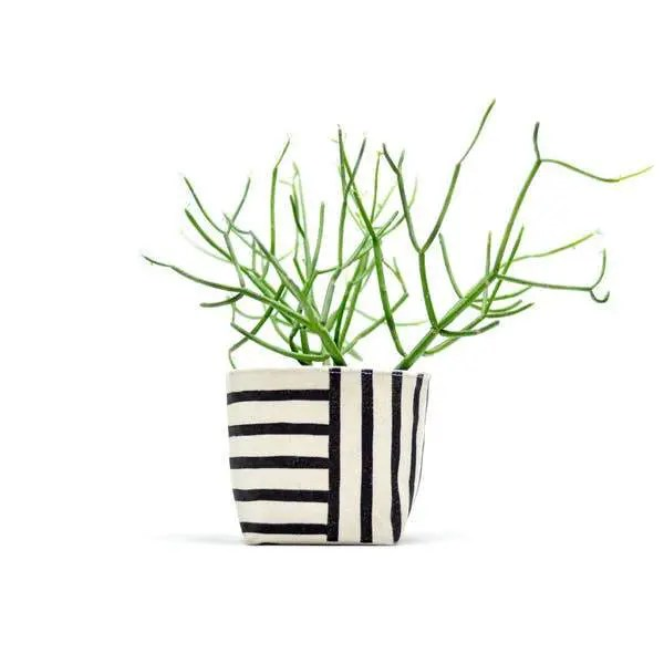 Canvas planter offered by ThreadSpun