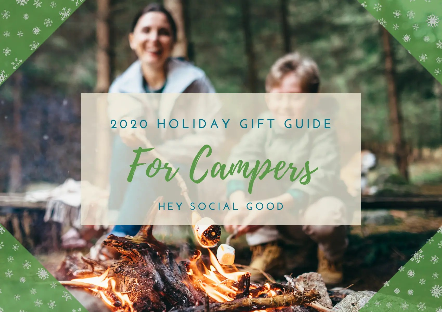 Sustainable and Ethical Holiday Gift Guide for Campers