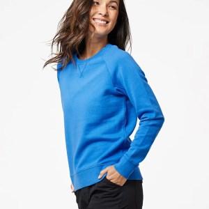 Women's Cobalt Essential Sweatshirt 2X