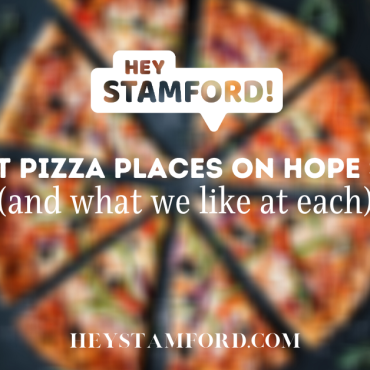 9 Pizza Places on Hope Street (and what we like at each)