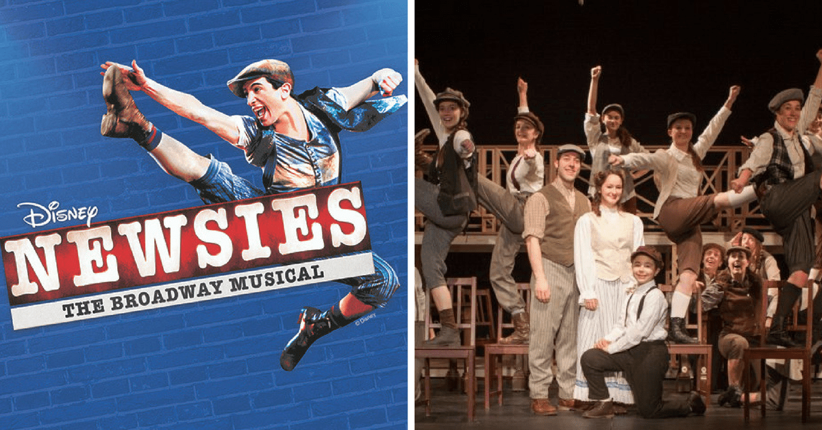 Newsies The Broadway Musical Comes To Curtain Call Stamford MORE SHOWS ADDED