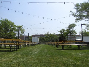 Beer Garden at Shippan Landing