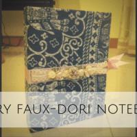 A Very Faux-Dori Notebook