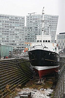 Albert Docks dry dock: Liverpool, England