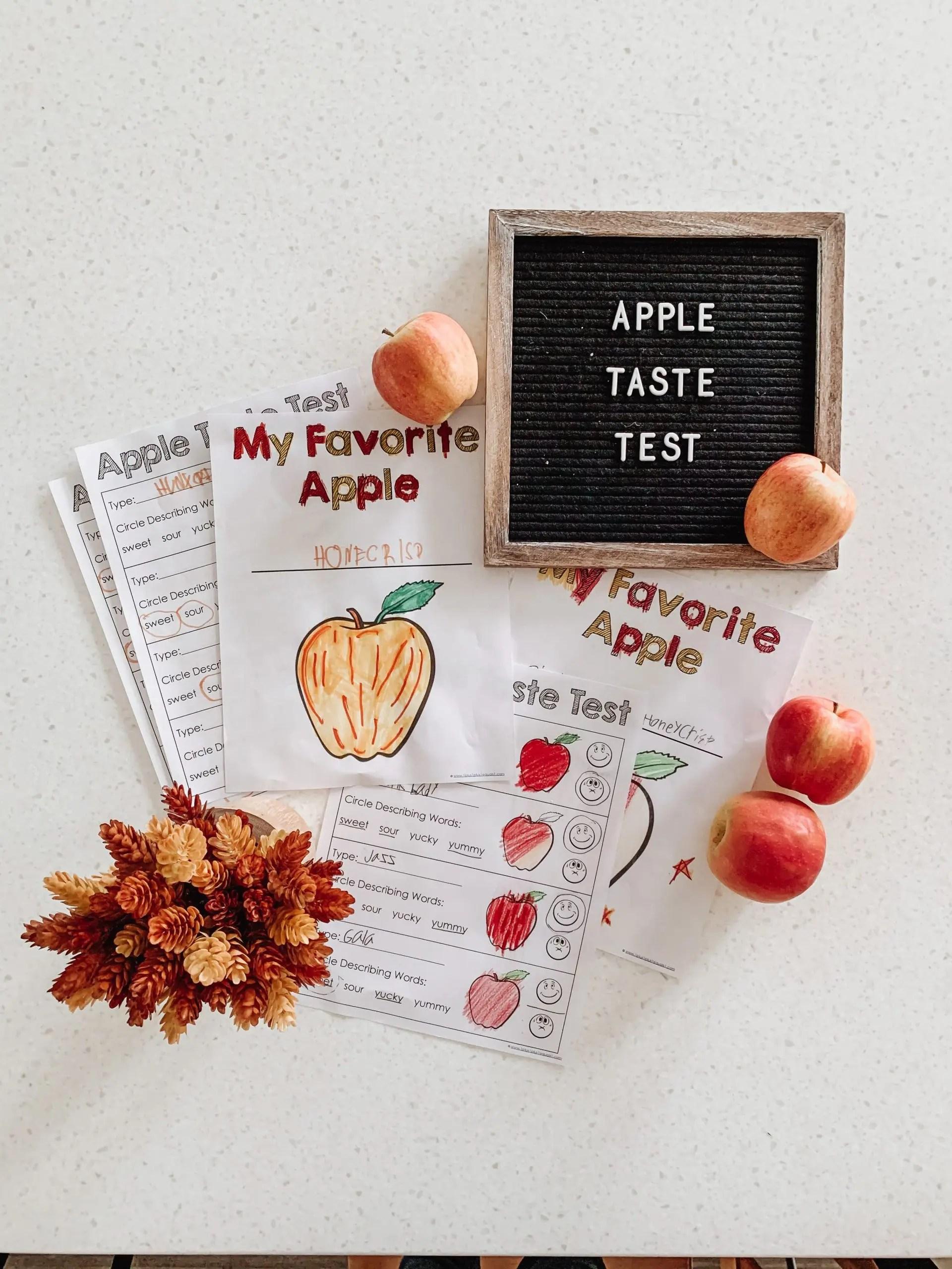 Apple Week Taste Test Kickoff