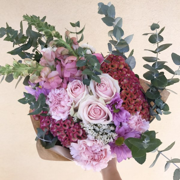 Fresh Flower Daily Bouquet Pink Mix