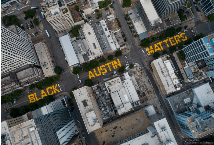 Racism doesn't live in Austin Texas