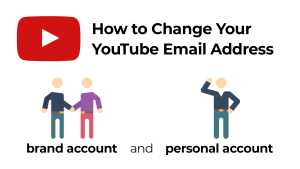 Change YouTube Email Address