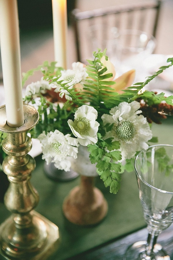 Modern Botanical Wedding In Emerald And Bronze Hey