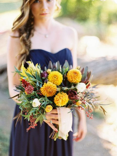 Fall Dress Colors Wedding