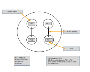 Wiring configuration for a HSP 4 to an Audio Technica 4