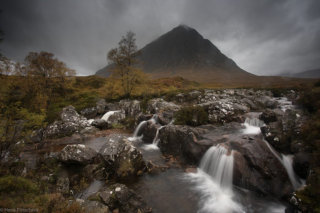 River Coupall with the Stob Dearg of the Buachaille Etive Mor 4461