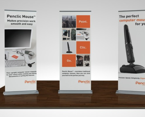 graphic design services banner stand