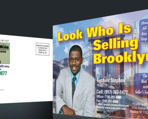 Postcard Design and Marketing Real Estate Realtor