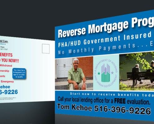 Postcard Marketing Reverse Mortgage