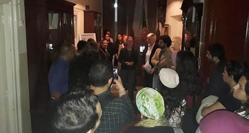 قراءات شعرية في بيت كفافيس 26-11-2018