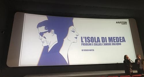 """""""L'isola di Medea"""", Trieste, Cinema """"Ariston, 4 dicembre 2017."""