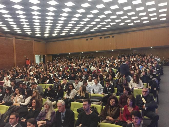V Convegno studentesco europeo, Belgrado, 15-19 novembre 2018.