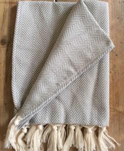 Herringbone Hand Towels