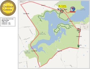 FIT Family Series: Caesar Creek State Park Bike Course