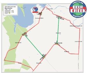 FIT Deer Creek bike map
