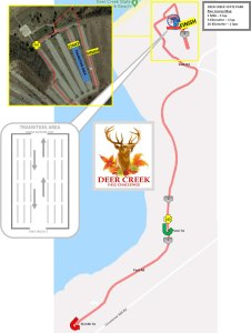 Deer Creek Fall Challenge Run Map