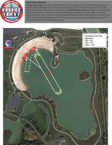FIT Series - Maumee Bay swim course