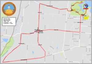 FIT Family Series: Portage Lakes Bike course map