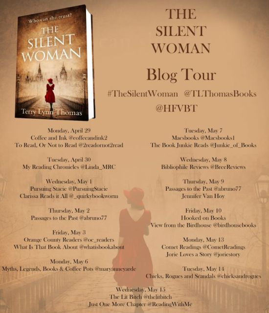 03 The Silent Woman Blog Tour Poster FINAL